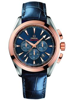 Omega Seamaster Aqua Terra Co-Axial Chronograph for London 2012 Olympic Games