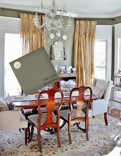 Fact #1:  When painting a ceiling any other color than white go at least one shade lighter.  Color on a ceiling appears darker than on the wall.