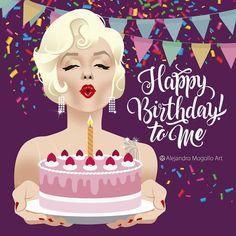Best Birthday Quotes Funny Its My 52 Ideas Happy Birthday Artist, 21st Birthday Quotes, Happy Birthday Wishes Quotes, Happy Birthday Video, Today Is My Birthday, Happy Birthday Images, Happy Birthday Cards, 25th Birthday, Birthday Month