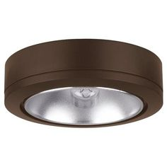 Under Cabinet Lights  Sea Gull Lighting 9858171 Bronze Puck Light Bronze <3 Details on product can be viewed by clicking the VISIT button