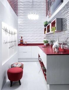 50 cozinhas vermelhas para uma casa cheia de personalidade