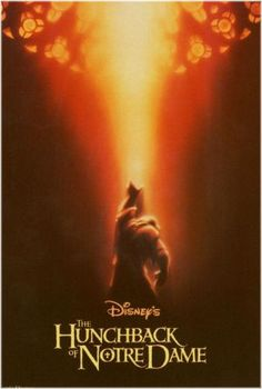 The Hunchback of Notre Dame- While it has its fun moments, The hunchback has themes that are for more mature audiences. It's not too bad, but needs to have a PG rating, at least (Teens) Animated Movie Posters, Disney Movie Posters, Disney Films, Disney Pixar, Film Posters, Disney Love, Disney Magic, Disney Art, Disney Stuff