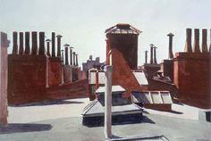 Edward Hopper, Roofs at Washington Square, 1926