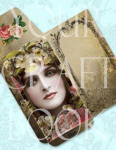 Sepia Beauty Gift Envelope - Etsy