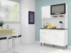 Cozinha Compacta Itatiaia Amêndoa 6000000694 - 5 Portas 1 Gaveta  R$ 259,99   em até 8x de R$ 32,50 sem juros no cartão de crédito