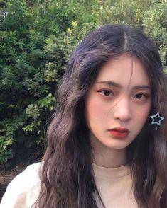 Pretty Korean Girls, Korean Beauty Girls, Cute Korean Girl, Asian Beauty, Asian Girl, Ulzzang Hair, Ulzzang Makeup, Ulzzang Korean Girl, Makeup Korean Style
