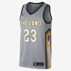 a57a8ba42 Nike LeBron James City Edition Swingman Jersey (Cleveland Cavaliers) Men s  NBA Jersey Nike Nba