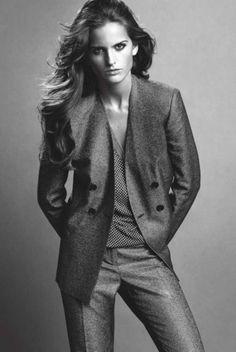 birdcagewalk:  jhilla:Izabel Goulart in a suit (kinda) just because.
