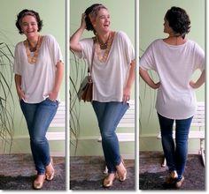 blog v@ LOOKS   por leila diniz: BOM DIA EM VÍDEO com voz envergonhada + LOOK com faixa/turbante + DEUS