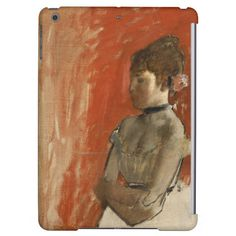 Ballet Dancer with Arms Crossed by Edgar Degas iPad Air Case