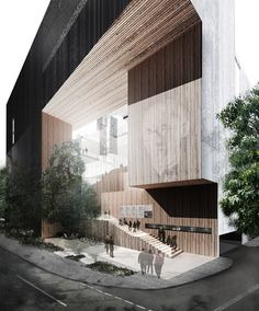 Gallery of School of Architecture for the Chinese University of Hong Kong / Ida and Billy - 1 Architecture Sketchbook, Architecture Visualization, Urban Architecture, Chinese Architecture, Architecture Student, Concept Architecture, Futuristic Architecture, Amazing Architecture, Contemporary Architecture