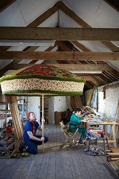 Sunbeam Jackie Vintage Fabric Parasols | Garden Accessories | House & Garden