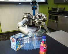 A robot can struggle to discover objects in its surroundings when it relies on computer vision alone. But by taking advantage of all of the information available to it – an object's location, size, shape and even whether it can be lifted – a robot can continually discover and refine its understanding of objects, say researchers at Carnegie Mellon University's Robotics Institute.