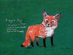 Fox. I love this little guy. eh @Vanessa?
