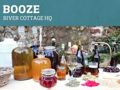 Join John Wright on our Booze course who will show you how to make beer and infuse fruits, flowers and vegetables form the garden or hedgerow