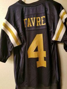 c4ed7ef68 Details about Brett Favre New York Jets Reebok NFL Football Jersey - Small