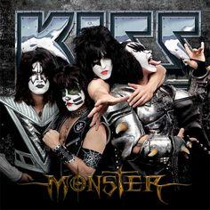 album cover art: kiss - monster [2012]