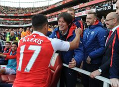 Tomas Rosicky's final moment with Arsenal. Arsenal 4-0 Aston Villa (May 2016)