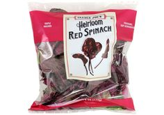 Heirloom Red Spinach