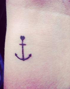 Love this -- anchor tattoo!