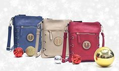 MMK Collection Fashion Crossbody Bag~Messenger Purse for Women~Designer Fashion handbag