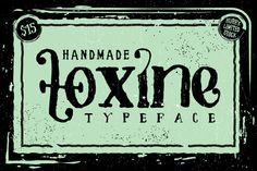 Check out TOXINE typeface + Ornament pack by Jiw on Creative Market