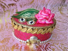 Nouveau Rococo Jewellery Keepsake Box by NouveauRococo on Etsy Made by my own fair hands <3