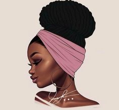 29 Ideas Drawing Hair Afro Woman Art For 2020 Art Black Love, Black Girl Art, Black Is Beautiful, Art Girl, Black Girls Drawing, Drawing Women, African American Art, African Art, Natural Hair Art