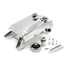 82.50$  Buy here - http://alikyw.worldwells.pw/go.php?t=32770364105 - ALLOY RADIATOR OVERFLOW EXPANSION TANK For Ford falcon BA & BF 6CYL V8 XR6 XR8 XR6 XR8 GT GTP FPV (B) Reservoir Kit  YC101046-SL 82.50$
