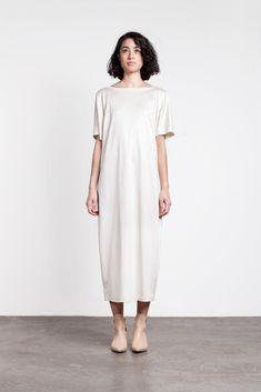 Image of Jesse Kamm Bottleneck Dress