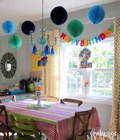 Sweet, Simple, and Semi-Homemade Second Birthday