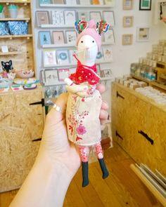 This little lady isn't very happy about this miserable weather!  . . . #handmadedoll #mouse #textiles #ihavethisthingwithtextiles #vintagefabric #handmade #handmadeisbest #favehandmade #creativenottingham #flashesofdelight #giftshop #thatsdarling #thehappynow #nottinghamindependents #itsinnottingham #designermakers #supportindependent #shoplocal #shopsmall #pursuepretty #pretty #stylethatmakesyousmile
