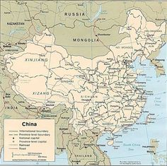 The map of China has changed over many thousands of years to get to what it is today. It has expanded and shrunk over time and is now one of the biggest countries on Earth.