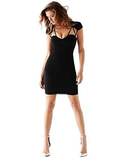 GUESS Women's Cap-Sleeve Strappy Dress, JET BLACK (XXS) GUESS http://www.amazon.com/dp/B00OVUJRL8/ref=cm_sw_r_pi_dp_9vnxub03VPQAP