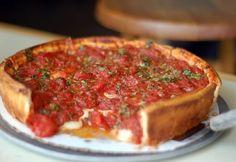 Deep Dish Pizza at Zachary's in Berkeley, CA....HELLA GOOD!