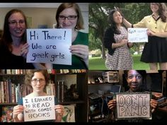 Nothing to Prove - Geek Girls & The Doubleclicks - YouTube