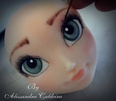 Face Cold Porcelain by Alessandra Caldeira
