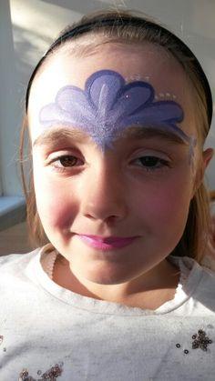 Princess tiara purple