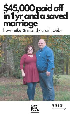 I met Mike & Mandy a year and a half ago when they reached out to us for coaching. They were not a happy couple. By that time, financial problems were contributing to a major downturn in their marriage. I think it's fair to say they were in a crisis. As a coach, I was concerned but hopeful. Make Money Online, How To Make Money, Thing 1, Budgeting Tips, Student Loans, Money Matters, Money Management, Money Saving Tips, Personal Finance