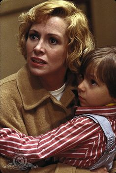 Catherine Hicks and Alex Vincent, Child's Play, 1988 Scary Movies, Old Movies, Horror Movies, Child's Play Movie, Scream Movie, Chucky And His Bride, Michael Myers And Jason, Chris Sarandon, Childs Play Chucky