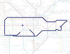 Des animaux avec le métro de Londres animal plan metro londres 1 divers carte information