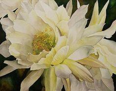 Art of Alfred Ng white flower
