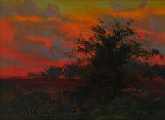 Modern Art Abstract Landscape Painting Contemporary by Pysar, $259.00