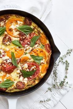 This Frittata Will Be Your New Brunch Go-To | Camille Styles | Bloglovin'