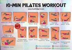 10 Minute Pilates Workout