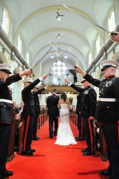 Military wedding at Oakmont Country Club with the City Heat Band… Wedding Types, Wedding Goals, Wedding Pictures, Dream Wedding, Wedding Ideas, Military Couples, Military Love, Army Love, Army Wedding