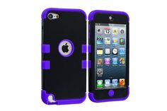 3-in-1 Combo Ultra Rugged Design Hybrid Protector Cases for iPod touch 5th Gen | Lagoo Tech