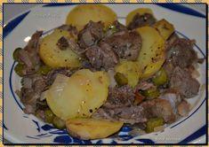 Le boeuf mironton (ou miroton) est une des plus vieilles préparations de boeuf à la française, impossible à dater... Pot Roast, Carne, Ethnic Recipes, Food, Cooking Recipes, Tasty, Ethnic Food, Rabbits, Chicken Stroganoff
