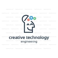 This logo design for all creative technology business. Consulting, Excellent logo,simple and unique concept. All colors and text can be modified. Perfect for app icons, startup companies and/or corporate identity use. Logo Design Template, Logo Templates, Corporate Identity, App Icon, All The Colors, Texts, Engineering Technology, Concept, Icons