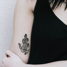 🌵 #vscocam #vsco #cactustattoo #tattoo #blackwork #ink #art